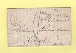Bourbon Vendee - 79 - Vendee - Nom Revolutionnaire De La Roche Sur Yon - 1828 (correspondance Incoomplete) - 1801-1848: Precursors XIX