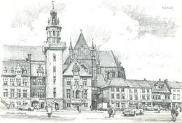 Eeklo (uitgegeven Door: Federatie Voor Toerisme In Oost-Vlaanderen : 11,5 X 17cm) - Eeklo