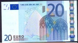 Euronotes 20 Euro 2002  UNC  < X >< P017 > Germany Trichet - EURO