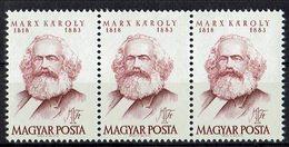 Ungarn 1968 // Mi. 2406 A ** 3er (M.028..440) - Karl Marx