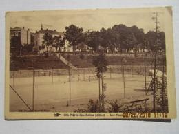 CPA 03 NERIS Les BAINS  -  Les Tennis écrite Et Timbrée 1933 - Neris Les Bains