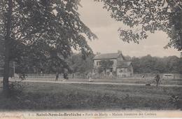 CPA Saint-Nom-la-Bretèche - Forêt De Marly - Maison Forestière Des Curieux (avec Petite Animation) - St. Nom La Breteche
