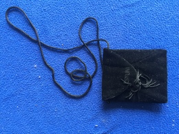 Black Yves Saint Laurent OPIUM Cosmetic Neck Cross Body Hand Bag Small Pouch - Other Collections