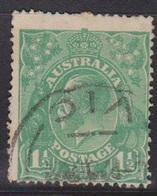 AUSTRALIA Scott # 25 Used - KGV Head - 1913-36 George V : Têtes