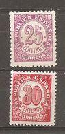 España/Spain-(MNH/**) - Edifil  749-50 - Yvert 616-17 - 1931-50 Ongebruikt