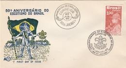 LSC 1960 - SCOUTISME - BRESIL - Cachet Rio De Janeiro - Brieven En Documenten