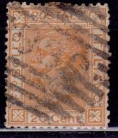 Italy, 1877, Emmanuel II, 20c, Sc#36, Used - 1861-78 Vittorio Emanuele II