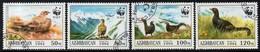 Azerbaijan - 1994 WWF Wildlife Set (o) - W.W.F.
