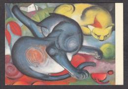 PM122/ Franz MARC, *Zwei Katzen - Deux Chats*, Basel, Kunstmuseum - Pittura & Quadri