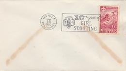 LSC 1960 - SCOUTISME - MANILA - PHILIPPINES - Girl Scouting - Brieven En Documenten