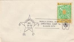 LSC 1976 - SCOUTISME - PHILIPPINES - Christmas Camp 76 - BAGUIO CITY - Brieven En Documenten
