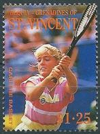 Saint-Vincent (Grenadines - Bequia) 1988 - Carlène Basset , Player Of Tennis ( Mi 266 ) MNH** - St.Vincent & Grenadines
