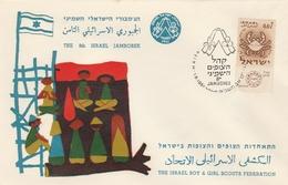 LSC 1961 - SCOUTISME - ISRAEL - The Israel Boy & Girl Scouts Fédération - Brieven En Documenten