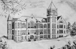 MARSHALL Missouri Baity Hall Chamber Of Commerce St Peter's Catholic Church Lot De 3 Cartes - Etats-Unis