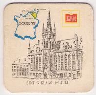 Bierviltje - Tour 1973 - Stella Artois - Sint Niklaas - Beer Mats