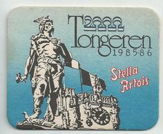 Bierviltje - Stella Artois - Tongeren 1985-86 - Beer Mats
