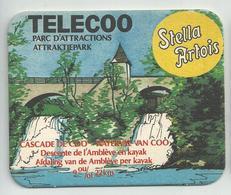 Bierviltje - Stella Artois - Waterval Van Coo - TELECOO Attraktiepark - Sous-bocks
