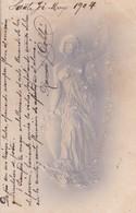 RAMON JUAN DOLDAN. CELEBRE EMPRESARIO SANTAFESINO. AUTOGRAPH SUR POSTCARD YEAR 1904 - BLEUP - Autographes