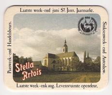 Bierviltje - Stella Artois - 850 Jaar Abdij Averbode - Beer Mats