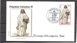 E19 - PO 721 Sur FDC 14.10.2004 - OMAI Homme De RAÏATEA Emmené Par James COOK En Angleterre En 1774. - Covers & Documents