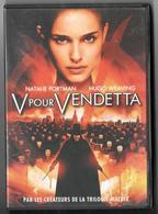 DVD V Pour Vendetta Natalie Portman Et Hugo Weaving - Ciencia Ficción Y Fantasía