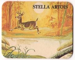 Bierviltje - Stella Artois - Dieren - Hert - Ree - Beer Mats
