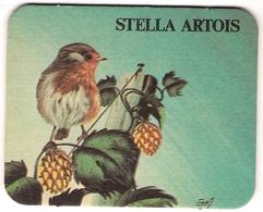 Bierviltje - Stella Artois - Dieren - Vogel - Beer Mats