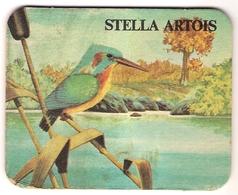 Bierviltje - Stella Artois - Dieren - IJsvogel - Beer Mats