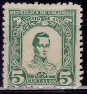 Colombia-Antioquia, 1899, Gen. Jose Maria Cordoba, 5c, MNG-nogum - Kolumbien