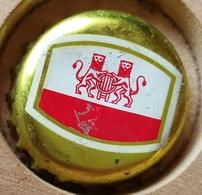 Vieille Capsules Kroonkurk Caulier Brasserie Caulier Bruxelles - Birra