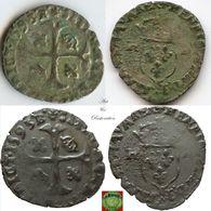 France - Douzain Aux Deux H, 2nd Type Of Henri IV (1589 - 1610) - 987-1789 Royal