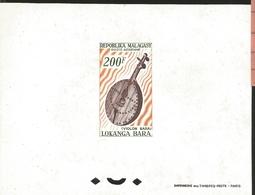 J) 1978 MALAGASY REPUBLIC, PROOF, FIDDLE, MN - Madagascar (1960-...)