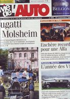 La Vie De L'auto Numero 905 - 23 Septembre 1999 - Bugatti - Alfa - Les V12 - 1950 à Nos Jours