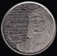 CANADA - 2012 Circulating 25¢ Coin 'Tecumseh ' - Canada