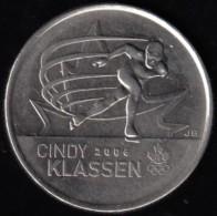 CANADA - 2009 Circulating 25¢ Coin 'Cindy Klassen' - Canada