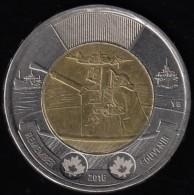 CANADA - 2016 Circulating $2 Coin 'Remember' (*) - Canada