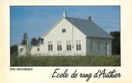 QUEBEC Ecole De Rang D Authier (scan Recto-verso) KEVREN0205 - Quebec