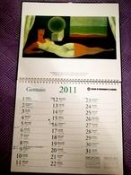 RENÉ MAGRITTE Merveilleux Calendrier Italien 2011 Avec 12 Affiches - Autres