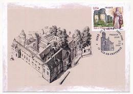 FRANCE - Carte Maximum - 0,55 René Ier D'Anjou ( Le Bon Roi René ) - Oblit AIX EN PROVENCE 16.01.2009 - Cartes-Maximum