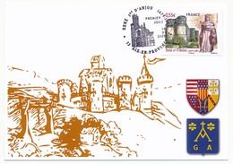 FRANCE - Carte Maximum - 0,55 René Ier D'Anjou ( Le Bon Roi René ) - Oblit AIX EN PROVENCE 16.01.2009 - 2000-09