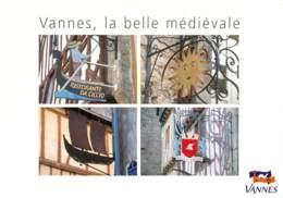 MORBIHAN VANNES  LA BELLE MEDIEVALE  (scan Recto-verso) KEVREN0218 - Vannes