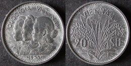 VIET  NAM  20 SU 1953  INDOCHINE FRANCAISE  INDO CHINA   PORT OFFERT - Colonies