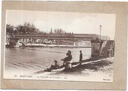 BEAUCAIRE - 30 - La Passerelle Sur Le Canal - DELC3 - - Beaucaire