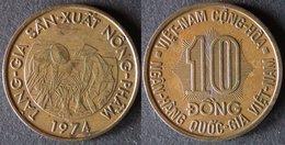 VIET NAM 10 DONG 1974 émission De La FAO PORT OFFERT - Viêt-Nam