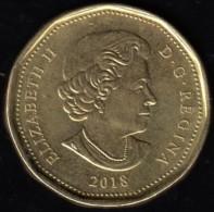 CANADA - 2018 Circulating $1 Coin - Canada