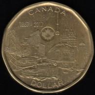 CANADA - 2017 Circulating $1 Coin '150 Years' (*) - Canada