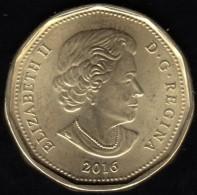 CANADA - 2016 Circulating $1 Coin  (*) - Canada