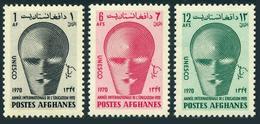 Afghanistan 820-822,MNH.Michel 1073-1075. Educational Year IEY-1970.Emblem. - Afghanistan