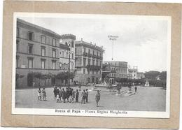 ROCCA DI PAPA - ITALIE - Piazza Regina Margherita - VUE TRES RARE - DELC3 - - Places & Squares