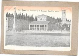 ROMA - ROME - CPA DOS SIMPLE - Basilica Di S Lorenzo Fuori Le Mura - DELC3 - - Roma (Rome)